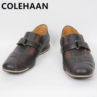 コールハーン(Cole Haan)のメンズ COLEHAAN コールハーン 8 1/2M ブラウン シューズ(スニーカー)