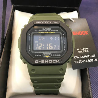 ジーショック(G-SHOCK)の新品☆ G-SHOCK DW-5610SU-3JF モスグリーン 【国内正規品】(腕時計(デジタル))