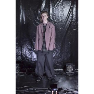 LAD MUSICIAN - ラッドミュージシャン 2016aw ピンクグレー ロング セットアップ