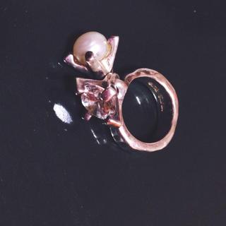 イーエムノアール(e.m. noir)のe.m. ピンキーリング(リング(指輪))