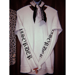 original ロングTシャツ vetements(Tシャツ/カットソー(七分/長袖))