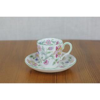 ミントン(MINTON)のミントン ハドンホール デュオ デミタス コーヒーカップ イギリス (食器)