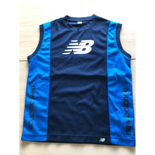 ニューバランス(New Balance)のニューバランスノースリーブ青150トレーニング(Tシャツ/カットソー)