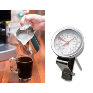 【新品】コーヒーポット用  温度計 サーモ ミルクやコーヒーの温度管理に(調理道具/製菓道具)