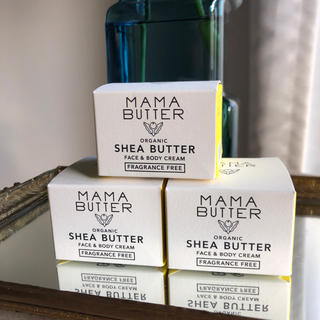 ママバター(MAMA BUTTER)の【新品未開封】ママバター フェイス&ボディークリーム シアバター 3個セット(フェイスクリーム)