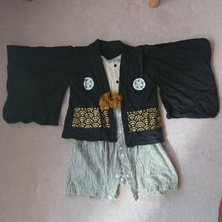 ベルメゾン(ベルメゾン)のベルメゾン 男の子 袴ロンパース 80cm(和服/着物)