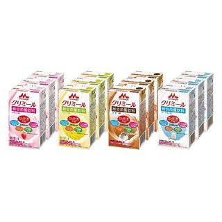 クリミール 4種類(ヨーグルト味、いちご味、コーヒー味、バナナ味)×3本 (計1(ビタミン)