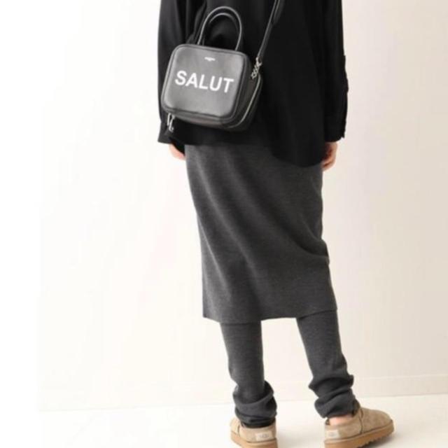 FRAMeWORK(フレームワーク)の美品 FRAMeWORK レギンス付 スカート 36 レディースのレッグウェア(レギンス/スパッツ)の商品写真