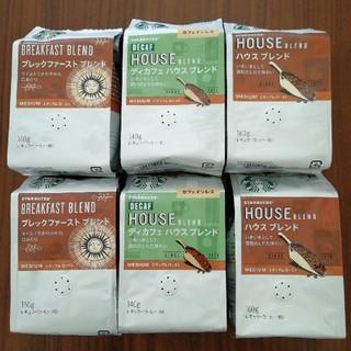 スターバックスコーヒー(Starbucks Coffee)のちゃっころん様専用 [新品未開封]スターバックス粉コーヒー 6袋(コーヒー)