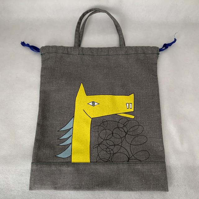 mina perhonen(ミナペルホネン)のミナペルホネン バッグ キッズ/ベビー/マタニティのこども用バッグ(レッスンバッグ)の商品写真