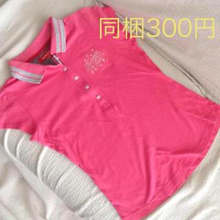 トミーガール(tommy girl)のtommy girl  ショッキングピンク ポロシャツ(ポロシャツ)
