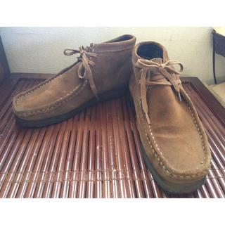 クラークス(Clarks)のclarksクラークスORIGINALS UK8Gメンズワラビースエード26(ローファー/革靴)
