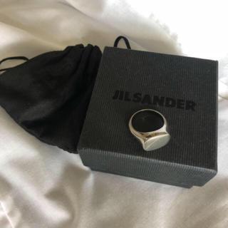 ジルサンダー(Jil Sander)のJIL SANDER シグネットリング(リング(指輪))