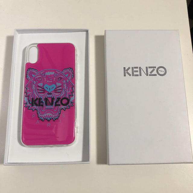 KENZO - KENZO ケンゾー iPhone X/XS カバー ケース タイガー ピンクの通販