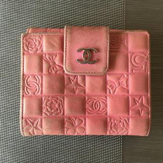 シャネル(CHANEL)のCHANEL 折りたたみ財布(折り財布)