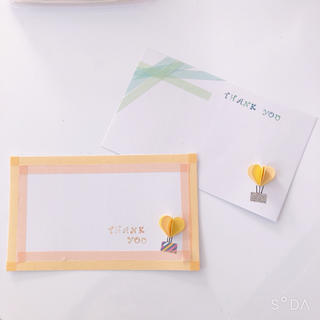 メッセージカード ハンドメイド(カード/レター/ラッピング)
