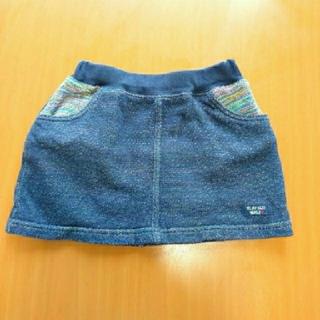 SLAP SLIP デニム風スカート(スカート)