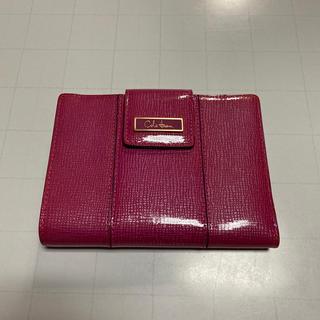 コールハーン(Cole Haan)のコール ハーン ピンク折り財布(財布)
