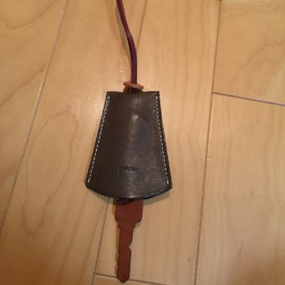 ゲンテン(genten)のゲンテン genten レザー 鍵 キーリング キーホルダー(キーホルダー)