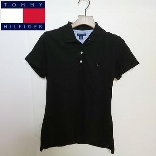 TOMMY HILFIGER - TOMMY HILFIGER トミーヒルフィガー ロゴ刺繍ポロシャツ