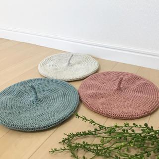 ベレー帽 ハンドメイド(帽子)