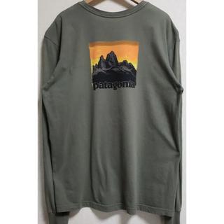 パタゴニア(patagonia)のpatagonia ロングスリーブTシャツ ロンT  Lサイズ(Tシャツ/カットソー(七分/長袖))
