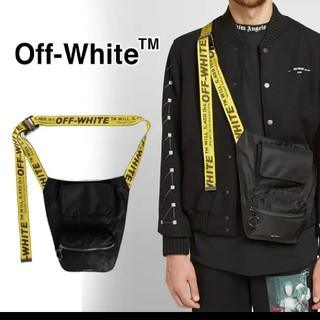 オフホワイト(OFF-WHITE)のsale❤️OFFwhite   bag(ボディーバッグ)