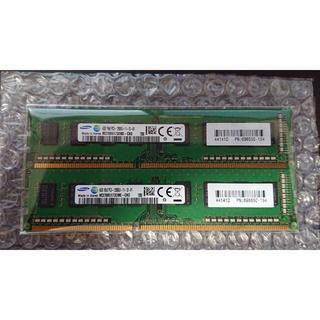 SAMSUNG - サムスン PC3L-12800U 4GB X 2枚セット 8GB ⑤