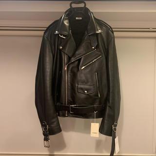 マルタンマルジェラ(Maison Martin Margiela)のVETEMENTS Leather Jacket 2019AW (レザージャケット)