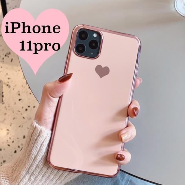 coach iPhone 11 Pro ケース 財布型 、 ♦︎iPhone11pro用♦︎ ピンク ハート メッキ風 ケースの通販 by はむはむ's shop|ラクマ