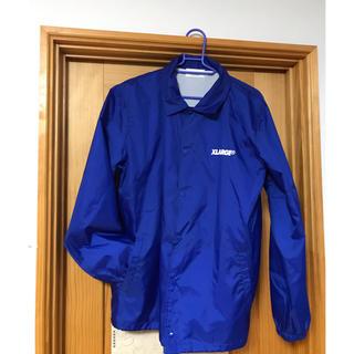 エクストララージ(XLARGE)のX-large コーチジャケット ブルー(ナイロンジャケット)