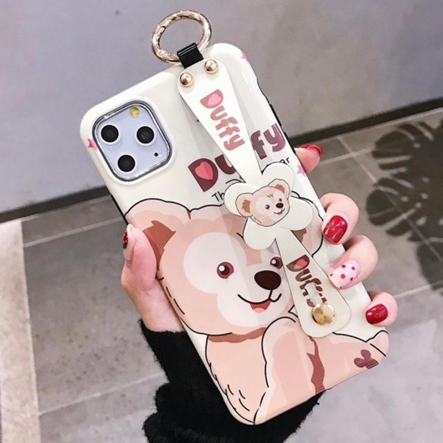 Apple - iPhone11pro ダッフィー iPhoneケースの通販 by Y's shop|アップルならラクマ