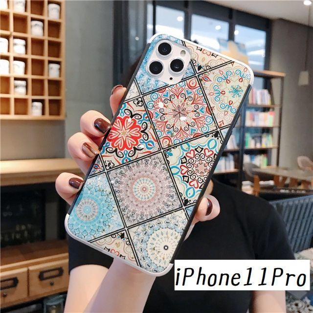 イヴ・サンローラン iPhone 11 Pro ケース 財布型 、 大人気!iPhone11Pro エスニック① カバー ケースの通販 by すわりん's shop|ラクマ