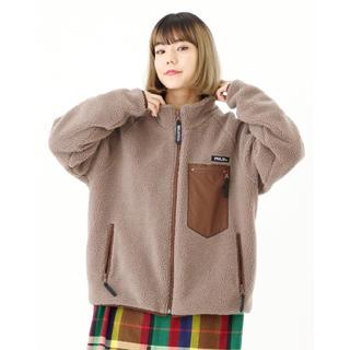 ミルクフェド(MILKFED.)のmilkfed boa jacket ボアジャケット(ブルゾン)
