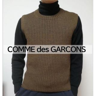 コムデギャルソン(COMME des GARCONS)のCOMME des GARCONS コムデギャルソン ベスト ニット セーター(ベスト)