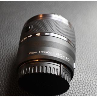 ニコン(Nikon)のNikon1 NIKKOR 30-110mm F3.8-5.6 VR ブラック(レンズ(ズーム))