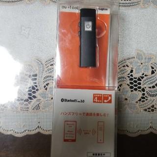 エーユー(au)のKDDI R02E005K ハンズフリーモノラルヘッドA ブラック(その他)