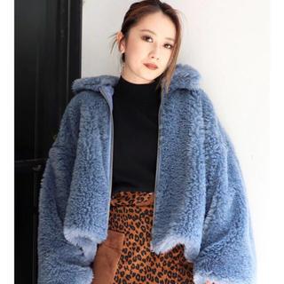 ムルーア(MURUA)のムルーア ボアジャケット(毛皮/ファーコート)