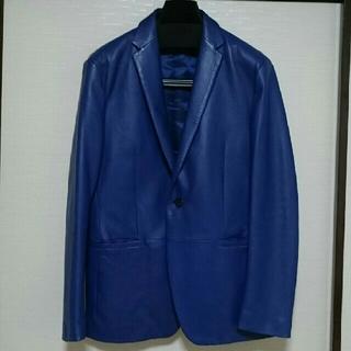 カルバンクライン(Calvin Klein)のカルバン・クライン 皮ジャケット(テーラードジャケット)