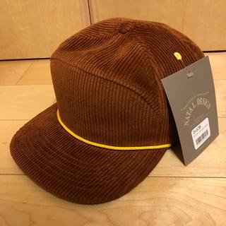 ネイタルデザイン(NATAL DESIGN)のNATAL DESIGN GOOD BOY CAP BLANK BROWN(キャップ)