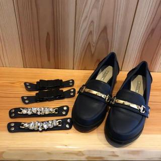 ランダ(RANDA)のRANDA ローファー 3way ぺたんこ靴(ローファー/革靴)