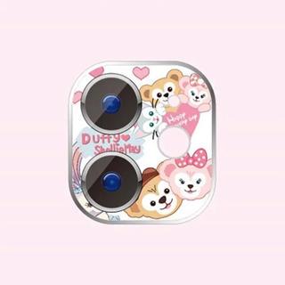ディズニー(Disney)のダッフィー  iphone11 レンズ保護フィルム(保護フィルム)