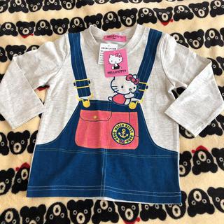 サンリオ(サンリオ)の新品♡ハローキティ 長袖Tシャツ 90 (Tシャツ/カットソー)