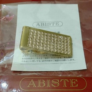 アビステ(ABISTE)の春色*結婚式、パーティーに【新品】ABISTE アビステ スワロ マネークリップ(その他)