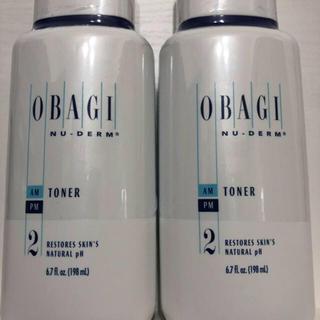オバジ(Obagi)のオバジニューダーム   トナー2本(化粧水/ローション)