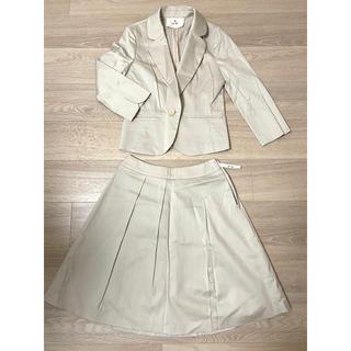 エフデ(ef-de)のエフデ スーツ 9分袖ジャケット&膝丈スカート 9号(スーツ)