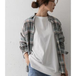 ドアーズ(DOORS / URBAN RESEARCH)のコットンチュニックTシャツ(Tシャツ(長袖/七分))