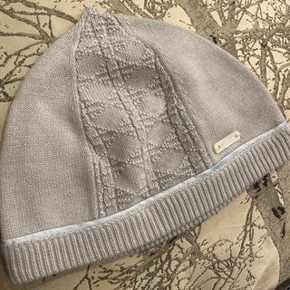 ベビーディオール(baby Dior)のDior ブルー ニット帽(帽子)