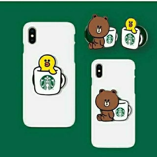 スターバックスコーヒー(Starbucks Coffee)の【激レア】スマホスタンド LINE × Starbucks サリー ブラウン(その他)