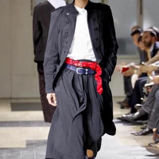 ヨウジヤマモト(Yohji Yamamoto)のレア Yamamoto POUR HOMME 12SS 袴期 ベルト 赤(ベルト)